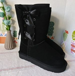 Style & Co. Black Boots